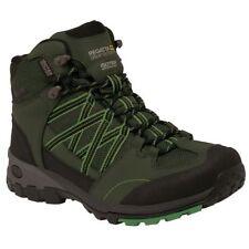 Scarpe da uomo trekking, escursioni, arrampicate verde
