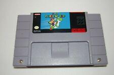 SNES Super Mario World Super Nintendo Game Cartridge