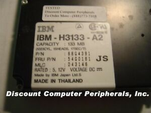 """120MB 3.5"""" IDE H3133-A2 40PIN Vintage Hard Drive IBM Tested Good Our Drives Work"""