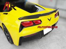 JPM Extended Carbon Fiber Trunk Spoiler Wing For 2014-2017 Chevy Corvette C7 CF