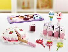Wooden Sweets Pretend Play Set--Cakes and Candies 26pcs