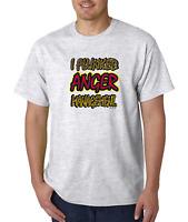 Bayside Made USA T-shirt I Flunked Anger Management