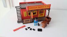 Playmobil 3431 setnr. vintage Wells Fargo & Co., House Tudor Western