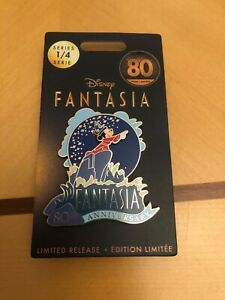 Disney Fantasia 80th anniversary limited release pin series 1/4 new