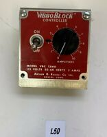 Preowned Arthur Russell VBC 12MB Vibro Block Controller Warranty Fast Shipping