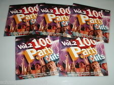 100 PARTY HITS VOL.2 / 5 CD'S MIT SAILOR BAY CITY ROLLERS ROXY MUSIC LIMAHL MUD