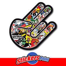 STICKER ADESIVO THE SHOCKER -  STICKERS BOMB - PVC - shocker hand  stickersbomb