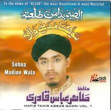 HAFIZ TAHIR ABBAS QADRI - SOHNA MADINE WALA - VOL 1 - NEW NAAT CD - FREE UK POST