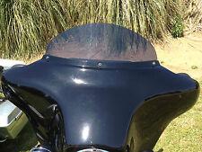 """Harley 7"""" Windshield Dark Tint - / Street Glide / Tri-Glide / 1996 - 2013"""