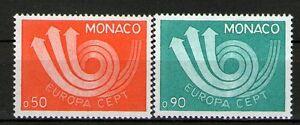 MONACO TIMBRE 917-918 NEUF XX - EUROPA DE 1973 - LUXE