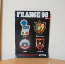 FRANCE 98 WORLD CUP PART 2-THE EXPRESS ON SUNDAY SUPPLEMENT MAGAZINE-17/5/1998