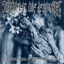 CRADLE OF FILTH THE PRINCIPLE OF EVIL MADE FLESH  CD EN ACEPTABLE ESTADO