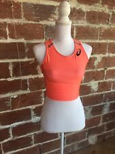 Asics Coral Crop Top Fitness Small Top