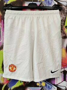 Manchester United Football Soccer Training Shorts Nike Youth Size XL / Mens XS