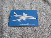 VINTAGE - POST CARD - DELTA'S CONVAIR 880
