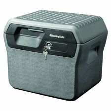 SentrySafe File Safe 0.66 cu ft Fire and Water Resistant Charcoal Grey w/ 2 In