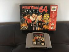 Fighting Force 64 - Nintendo 64 - N64 - GREAT CONDITION - GAME & BOX