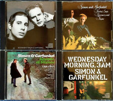 SIMON & GARFUNKEL - BOOKENDS, PARSLEY, SOUNDS,WEDNESDAY MORNING - (4) CD LOT