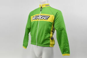 Verge Kid's XL Classic Race Winter Cycling Jacket Green/Yellow