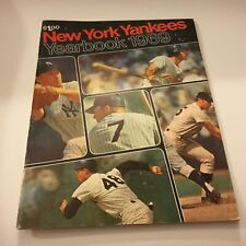 New York Yankees 1969 Yearbook Very good Condition Rare Baseball Find