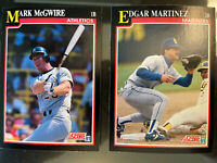 Score Baseball  1991 Complete Series 1 Set 441 Cards 1-441. Mike Mussina Rookie