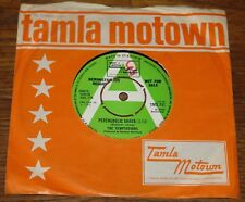 """THE TEMPTATIONS PSYCHEDELIC SHACK b/w THAT'S WAY UK TAMLA MOTOWN DEMO 7"""" 1969"""