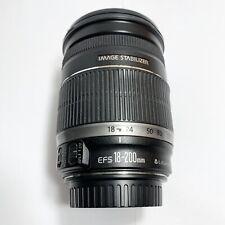 Canon EF-S 18-200mm F/3.5-5.6 IS Lens t1i t2i t3i t4i 40D 50D 60D 70D 80D 7D