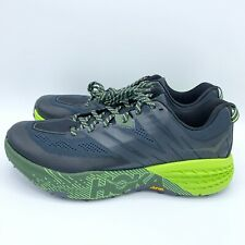 Hoka One One Men's Speedgoat 3 Running Shoe Ebony/Black