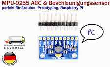 GY-9255 MPU-9255 i2c IIC Sensor Module  Gyroscope Accelerometer für Arduino