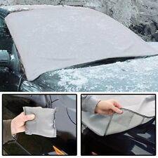 MAGNETIC CAR WINDSCREEN COVER & ICE SCRAPER FROST SNOW WINTER WEATHER PROTECTION