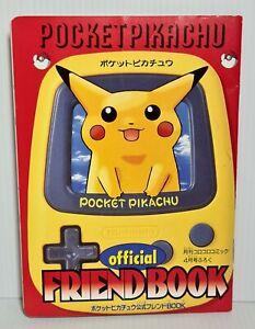 Pokemon Pocket Pikachu Vintage Original Corocoro Mini Friend Book - 1998