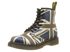 Dr Doc Martens Air Wair Union Jack UK Flag Delaney Boot Child Size 11 UK/ 12 US