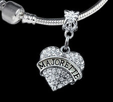 Majorette Charm  Fits European style bracelet or necklace  (charm only)