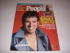 Vintage PEOPLE Magazine, September 3, 1984, BRUCE SPRINGSTEEN Cover, BO DEREK!