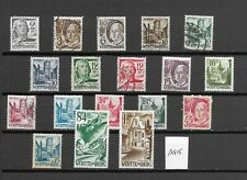 WURTTEMBERG STAMPS (A815)