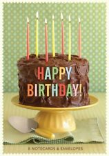 Happy Birthday Notecards by Chronicle Books Book The Fast Free Shipping