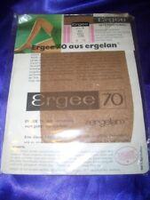 RAR Vintage Ergee Feinstrümpfe Damenstrümpfe Gr. 8,5-9 palma Stockings OVP