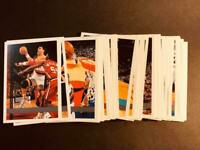 1997-98 Topps MISSING FOIL BLANK BACK NBA PROOF You Pick Your Card