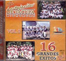 Super Banda Los Pajaritos De Tacupa Mich. 16 Grandes Exitos Vol 2   CD New