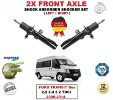 FOR FORD TRANSIT Bus 2.2 2.4 3.2 TDCi 2006-2014 FRONT LEFT RIGHT SHOCK ABSORBERS