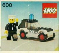 LEGO 600 Police Patrol - Town / Classic Town / Police