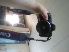 Canon EOS-Rebel G 35mm Camera W/ 80-200mm Lens, Strap, No Lens Cap, No Batteries
