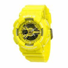 Casio Baby-G BA-110 Series Analog-Digital Neon Color Yellow Watch BA110BC-9ADR
