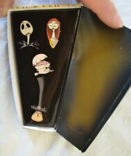 Nightmare Before Christmas 2002 Boxed Coffin Pin Set #2 ~ Disney Catalog Le 5000