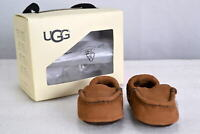 Infant UGG 1017192/CHE I Sivia Moccasin Slippers Chestnut
