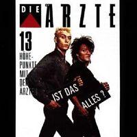 """DIE ÄRZTE """"IST DAS ALLES (13 HÖHEPUNKTE...)"""" CD NEUWARE"""