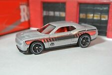 Hot Wheels '15 Dodge Challenger - Gray - Loose - 1:64 - Muscle Mania - Mopar
