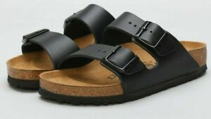 NEW BIRKENSTOCK Arizona BS Black sandals regular fit
