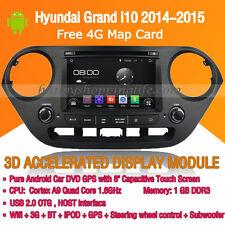 Android Multimedia Player for Hyundai Grand i10 2014-2015 DVD GPS Navigaiton
