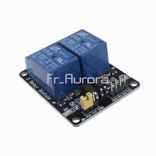 DC 24V 2 Channel Relay Module With Optocoupler For PIC AVR DSP ARM Arduino New